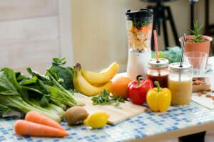 アトピー性皮膚炎に良いオリーブオイルを使った野菜の画像