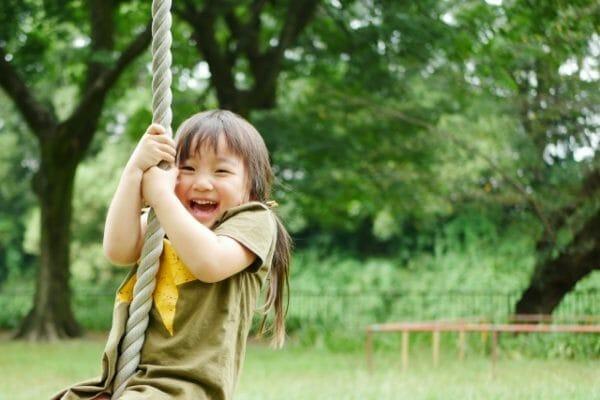 コロナ禍で免疫力が落ちている子供の画像