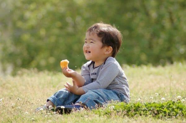 アトピー性皮膚炎の子供のイメージ
