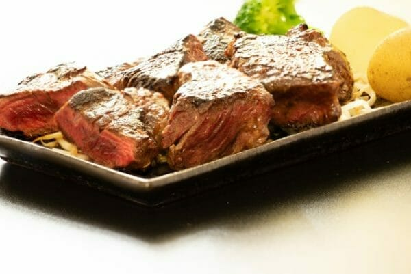 貧血に必要なタンパク質を含んだ肉のイメージ