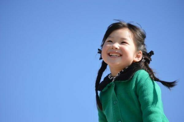 子供のアトピー性皮膚炎はアセチルコリン代謝体質が多いことを表す子供の画像