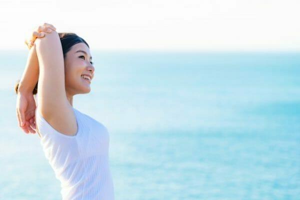 生理痛にも更年期障害にもきちんと原因があることがわかった女性のイメージ
