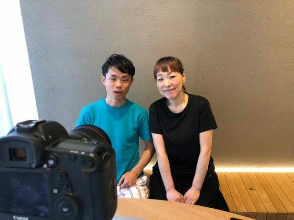 株式会社MEETSHOP代表取締役、サンナナサロンの前田春代とcawaii社長の画像