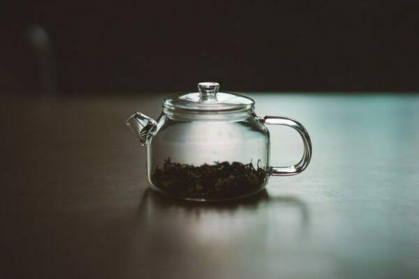 緑茶に含まれる成分であるタンニンのイメージ