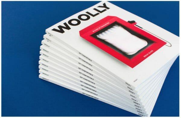 casper社が出版している睡眠改善などの雑誌woolyのイメージ